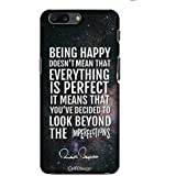 Official Merchandise CelfiDesign Classic Case - Being Happy AB Quotes for OnePlus 5