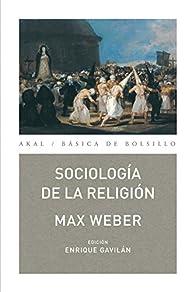 Sociología de la religión par Max Weber