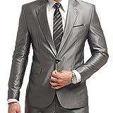 Costume Homme Classique Veste Elégant Pantalon Bien Coupé Blazer 2 Pièces