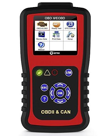 Kc301Véhicule OBDII OBD2Auto Diagnostic lecteur de code Scan Tool