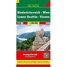 Carte routière : Vienne - Nieder - Austria : Niederosterreich (en anglais)