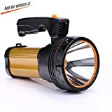 ROMER LED Rechargeable Handheld Searchlight High-power Super Bright 9000 MA 6000 LUMENS CREE Tactique Spotlight Torche Lanterne Flashlight (or)