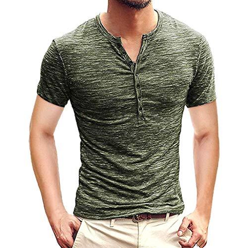 Shirt Herren, Sommer Mode Kurzarm Pullover Baumwolle Feste T-stück Lässige Top Bluse Männer Personalisierte Muster Bluse -