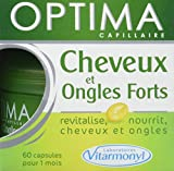 VITARMONYL Optima Cheveux et Ongles Forts 60 Capsules - Lot de 2