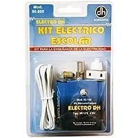 Electrodh 80.600, Kit Escolar Portal con Bombilla y Batería