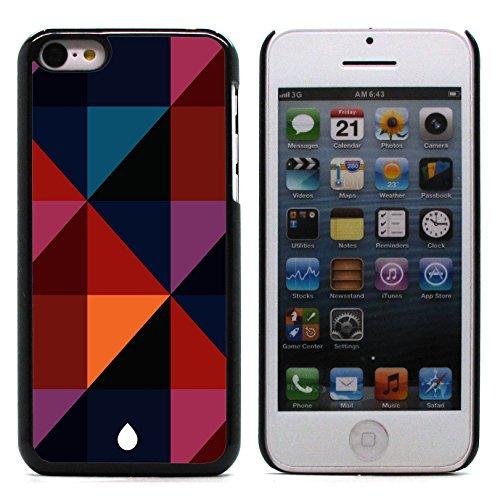 Graphic4You WET WOODEN PLANKS Muster Harte Hülle Case Tasche Schutzhülle für Apple iPhone 5C Design #8
