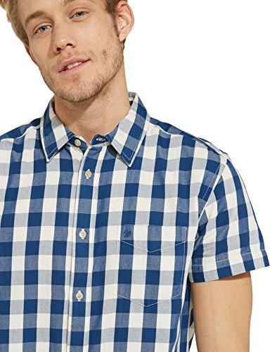 Wrangler Herren Freizeithemd Blau (Limoges Blue 50)