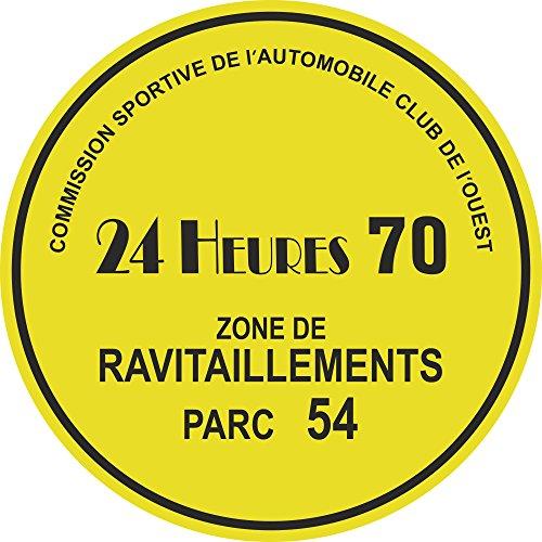 Preisvergleich Produktbild Le Mans 24Heures Parkbewilligung, von 1970, fanzösische Sprache
