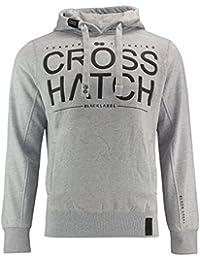 CrossHatch Men's with hood Hoodie grey grey