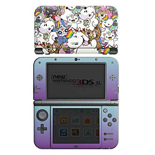 DeinDesign Skin kompatibel mit Nintendo New 3DS XL Aufkleber Sticker Folie Pummel und Freunde Pummeleinhorn Einhorn
