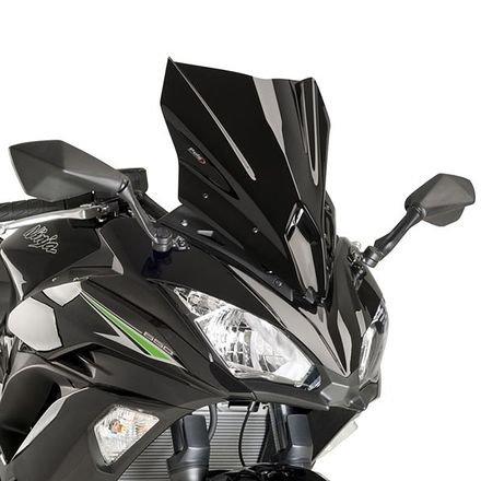 Puig 9711N Racing Scheibe, Kawasaki Ninja 650 17'-18', Schwarz