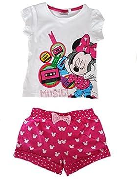 Disney - Kleidungsstück-Anordnung T-Shirt kurze Ärmel + Shorts Minnie Mouse