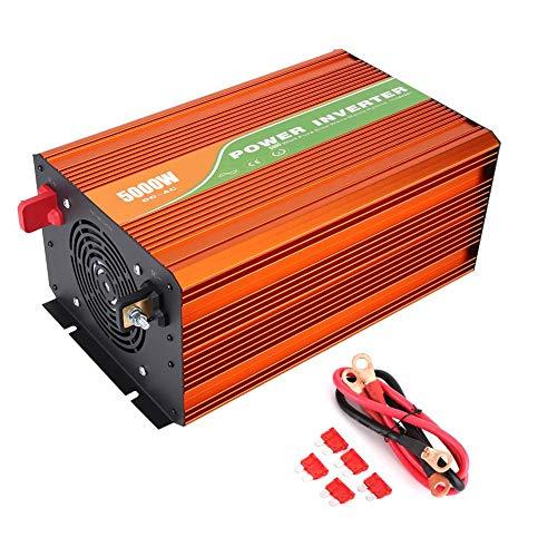 Solar Wechselrichter, 5000W hochfrequente reine Sinus Wechselrichter Auto Solar Wechselrichter Ausgangsspannung 220V(48V)
