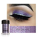 SMILEQ® Focallure 12 Farben Lidschatten Makeup Perle Metallic Lidschatten Palette Makeup (1PC, B)