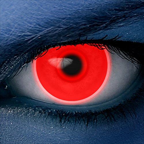 Farbige Schwarzlicht Effekt-Kontaktlinsen