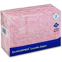 CHICOPEE 74468Lavette Super Lingettes, rouge ()