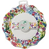 Talking Tables Floral Fiesta Plate, Pack of 12