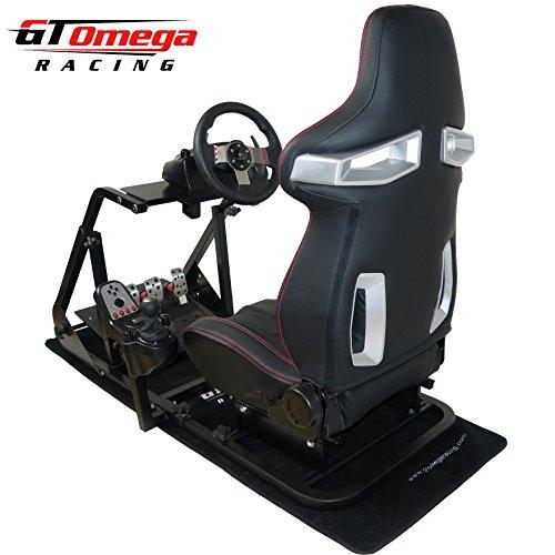 GT Omega ART Racing Simulator Cockpit RS9 Seat Suitable