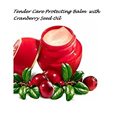 Oriflame Tender Care Cranberry Seed Oil Skin Protecting Balm with Vitamin E and Natural Beewax (Red)