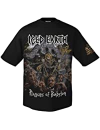 Iced Earth Plagues of Babylon 701693 T-Shirt