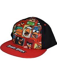 Garçons Angry Birds Snapback Flat Peak Casquette de baseball d'été