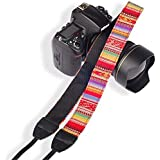 SYGA 1 Piece Red Coloured DSLR Camera Shoulder Strap