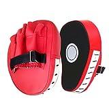 Foxom Guanti da Passata in PU per Pastiglie Boxe Kickboxing Artigli Boxe, 1 Coppia