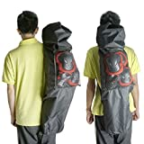 Cooplay 44*13 Black Professional Big Longboard Skateboard Carry Bag Handy Backpack Handbag Long Board With Mesh by Cooplay