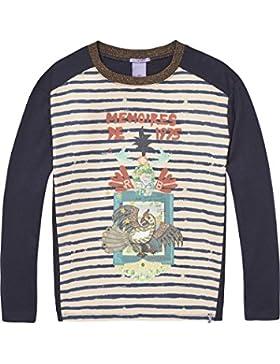 Scotch & Soda R'Belle Boxy Photo bedruckt T-Shirt, Camiseta Para Niñas