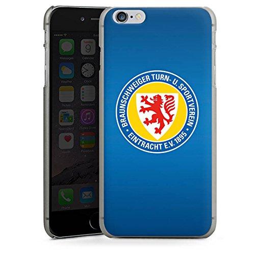 Apple iPhone 6s Hülle Case Handyhülle Eintracht Braunschweig Fanartikel Bundesliga Hard Case anthrazit-klar