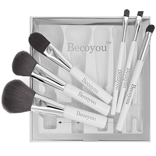 Becoyou Pennelli Make Up Pennelli Cosmetici Trucco Spazzola Professionale a
