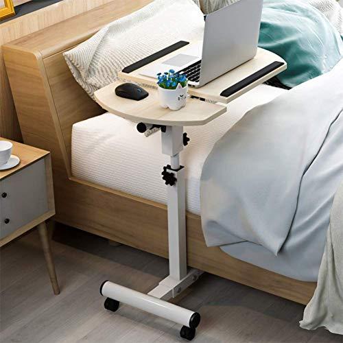 WNTHBJ Nachttisch, Aufzug Klappsofa Faul Tisch, Laptop Tisch, Moderne Dekorative Tisch Geeignet Für Familie, Büro, Hotel,B -