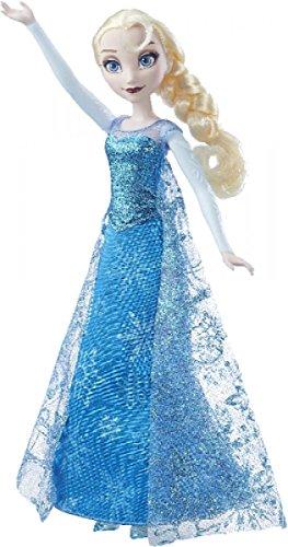 Hasbro Disney FROZEN - Die Eiskönigin singende Lichterglanz Elsa