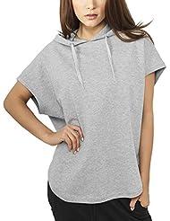 Urban Classics Ladies Sleeveless Terry Hoody - Sweat-Shirt - Femme