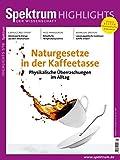 Naturgesetze in der Kaffeetasse: Physikalische Überraschungen im Alltag (Spektrum Highlights)