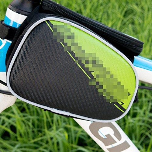OGTOPOGTOPMountain Bike Reitausrüstung Satteltasche Handytasche Zubehör 3
