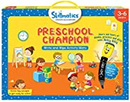 Skillmatics Educational Game: Preschool Champion (3-6 Years) | Creative Fun Activities and Games for Kids | Er