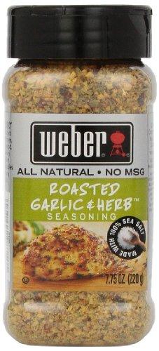Weber Roasted Garlic & Herb Seasoning 220g Tub