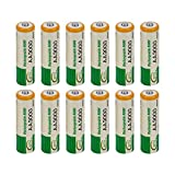 WEIWEITOE-ES 12 pcs AA LR06 3000mAh 1.2V NI-MH Battery Cell RC BTY New Professional Mini Replacement...