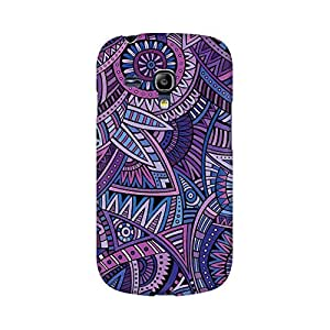 Mobicture Abstract Design Designer Printed Hard Case Cover - [Hard Poly Carbonate] [Slim-fit] [Shock-Proof] Back Cover for Samsung S3 Mini