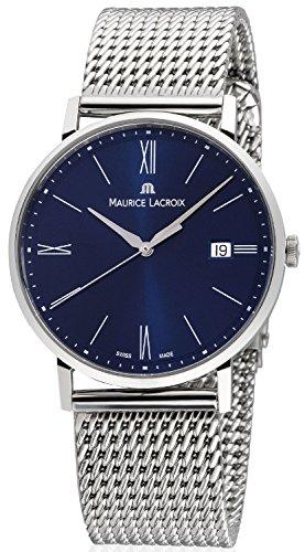Maurice Lacroix Eliros EL1087-SS002-410-1 Reloj de Pulsera para hombres Plano & ligero
