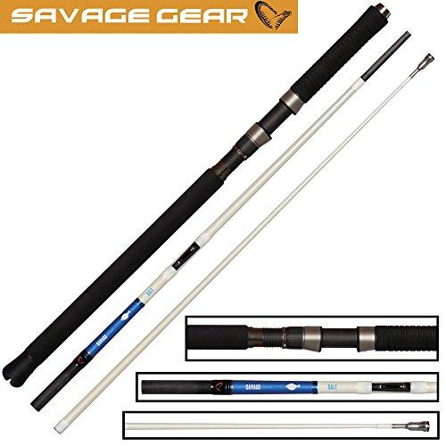 Savage Gear Salt Nordic Big Game Inline MH 6,3ft 20-50lbs 300g Rute zum Meeresangeln, Meeresrute für Heilbutt & Dorsch, Dorschrute -