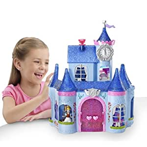 disney prinzessinnen x2842 puppe und cuddle mini schloss magiclip cinderella. Black Bedroom Furniture Sets. Home Design Ideas