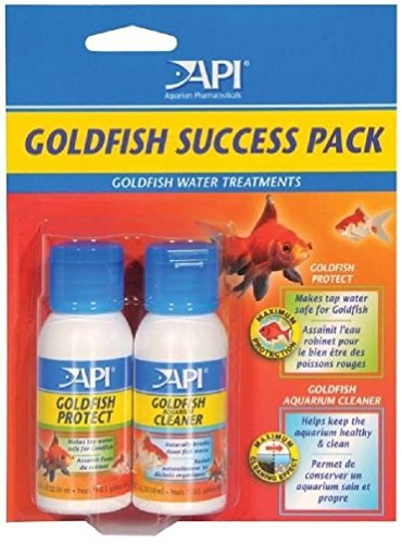 ponze-api-goldfish-success-start-up-pack-protect-cleaner-aquarium-fish-tank