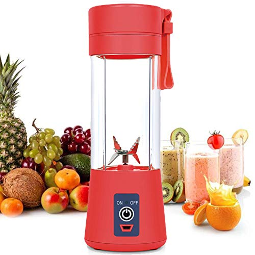 AUFELL versión Mejorada Licuadora Personal, Vaso exprimidor portátil/Mezclador de Frutas eléctrico/batidora...
