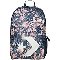 Converse Mochila Backpack para mujer Star Chevron Pale Coral Barely Orange Navy Multicolor