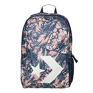 Converse Mochila Backpack para mujer Star Chevron Pale Coral Barely Orange Navy Multicolor