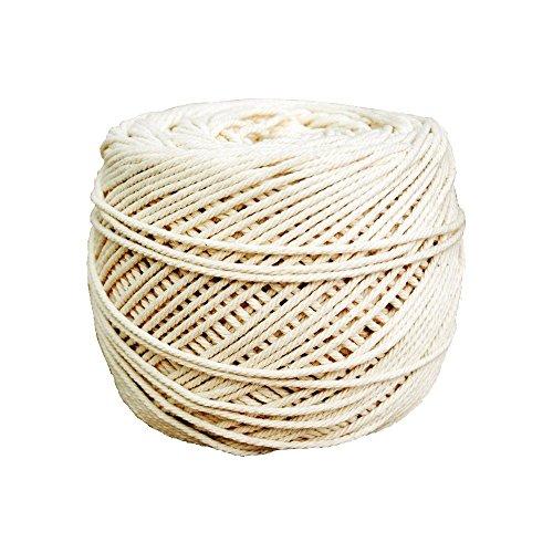 e Makramee Wand Aufhängung Pflanze Aufhänger Basteln Stricken Seil natur Farbe 3MM 4mm 5mm ()