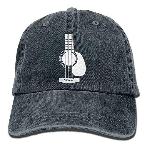 Sdltkhy Denim-Baseballmütze-akustische Gitarren-1 Männer-Frauen-Golf-Hüte justierbare Baseballmütze