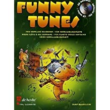 Funny Tunes, für Sopranblockflöte, m. Audio-CD